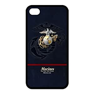 Customize US Marine Corp Back Cover Case for iphone 4 4S Protect Your Phone