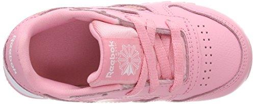 Cl Casa Rosa Zapatillas Spring Leather Por Reebok Bebé 000 pink De Unisex Estar white FAdqT0