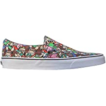 Vans Mens Classic Slip-On Low Top Slip On Fashion Sneakers