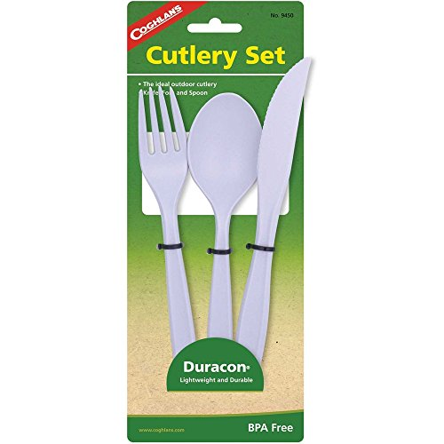 Coghlans 9450 Lexan Cutlery Set product image