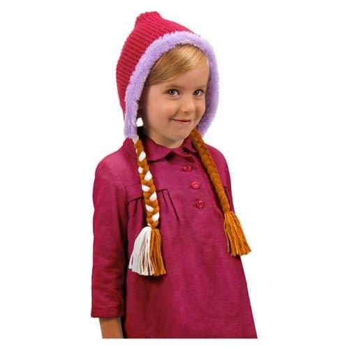 Elope Frozen Anna Hoodie Hat For Girls -
