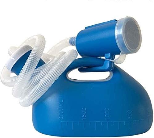 便器 便器ポータブル男性便器デオドラントや高齢者障害者病院ケアアウトを使用するための漏れ防止2000ミリリットル大容量便器簡単 ユニセックス便器
