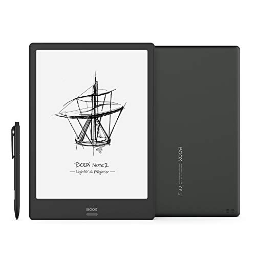BOOX Note2 10.3 E-Ink Tablet ePaper, Android 9.0,Front Light, Fingerprint Recognition, 5GHz WiFi, OTG Capacity E-Reader