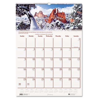 HOD378 United STATIONERS (OP) Calendar,Monthly Wall