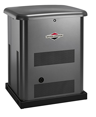 [Briggs & Stratton 40450 10000-watt Home Standby Generator System with 200-Amp Automatic Transfer Switch] (Compact Diesel Generator)