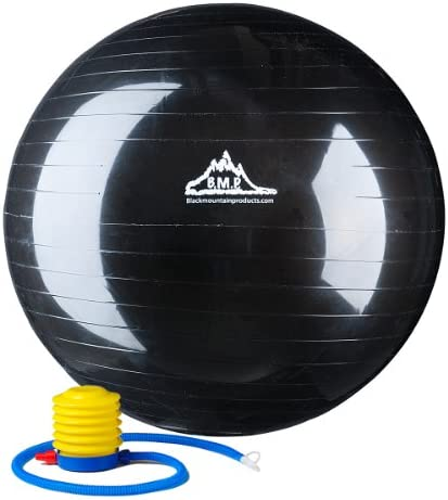 Black Mountain Products 2000lbs Static Strength Exercise Stability Ball