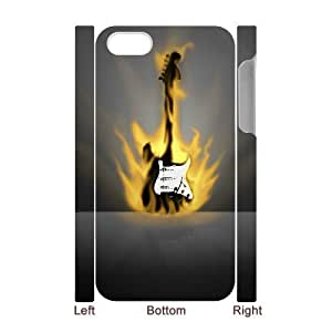 3D Bumper Plastic Case Of Guitar customized case For Iphone 4/4s