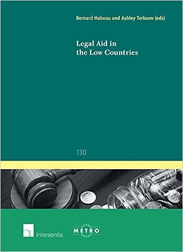 Book Legal Aid in the Low Countries (Ius Commune Europaeum)