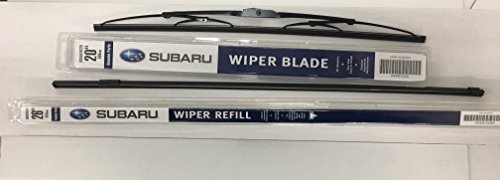 Subaru 2008-2014 Subaru Tribeca B9 Front Windshield Wiper Blade Refill Set Genuine