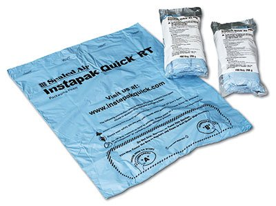 15'' x 18'' (No. 10) Sealed Air Instapak Quick Room Temperature Foam Packaging Bags (36 Bags) - AB-535-210 by Miller Supply Inc