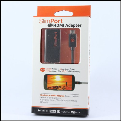 SlimPort to HDMI Adapter Micro USB to 1080p HDTV Cable