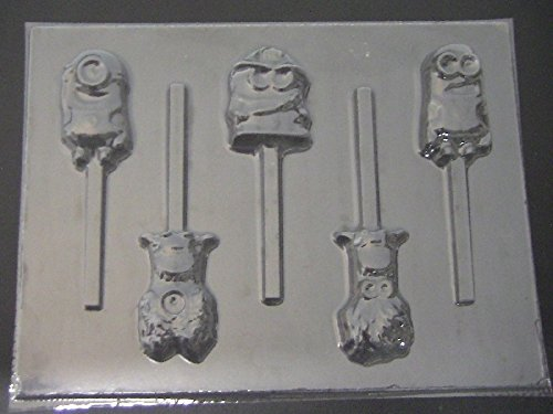 Lovable You Chocolate Candy Lollipop Mold Despicable Me