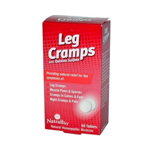 NatraBio Leg Cramps with Quinine Sulfate - 60 Tablets (Quinine Sulfate)