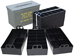 MTM Ammo Can Organizer (Black)