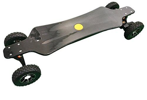 Lloyd's Boards and Bikes 3200 Watt Motor Electric All Terrain Carbon Fiber Longboard