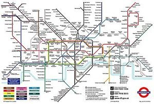 clearprints london underground poster tube map a3 amazing value art top quality poster