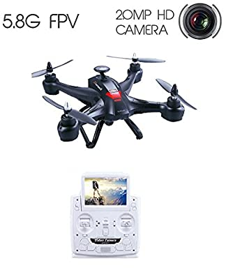 Drone with Camera HD Camera Drone Master Drone X181 RC Quadcopter 5.8G FPV 2MP HD Camera 5 Inch Monitor Similar Brushless Motor