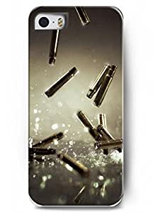 Popular Designed Stylish Series Case for iPhone 5 5S 5G with the Design of metal Bullets Shells BY Xincase