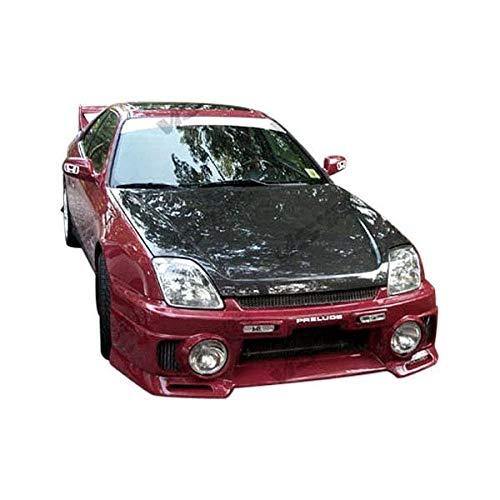 VIS Racing (VIS-VIN-372) OEM Style Hood Carbon Fiber - Compatible for Honda Prelude 1997-2001 (1997 1998 1999 2000 2001 | 97 98 99 00 01)