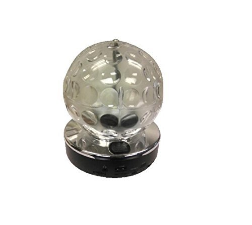 Supersonic SC1379WH Disco Ball Speaker, White