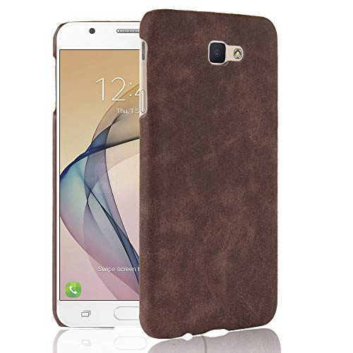 Case for Samsung SM-G611FF/DS Galaxy J7 Prime 2 Duos/SM-G611L SM-G611S  SM-G611K Galaxy On7 Prime 2018 (Samsung G611) Case PC Hard Cover Tan