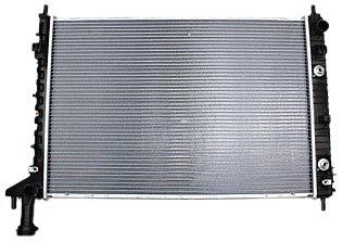 TYC 13007 GMC Acadia 1-Row Plastic Aluminum Replacement Radiator