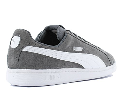 Puma Smash SD, Sneakers Basses Mixte Adulte Gris (Steel Gray-puma White 14)