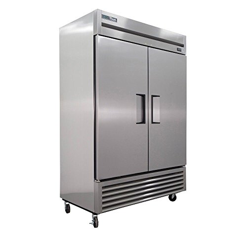 (True T-49-HC Reach-in Solid Swing Door Refrigerator with Hydrocarbon Refrigerant, Holds 33 Degree F to 38 Degree F, 78.625