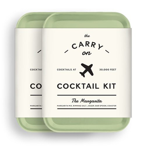 W&P MAS-CARRY-MG-2 Carry on Cocktail Kit, Margarita, Travel Kit for Drinks on the Go, Craft Cocktails, TSA Approved, Pack of 2 by W&P
