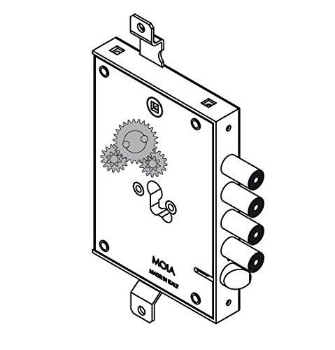 Cerradura MOIA X Blindada 664/281 DFB D: Amazon.es: Bricolaje y herramientas