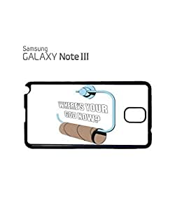 Where is Your God Now Mobile Cell Phone Case Samsung Note 3 Black