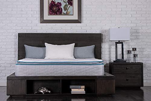 Dreamfoam Bedding Doze 11 Plush Pillow Top Mattress, Queen, Made in The USA