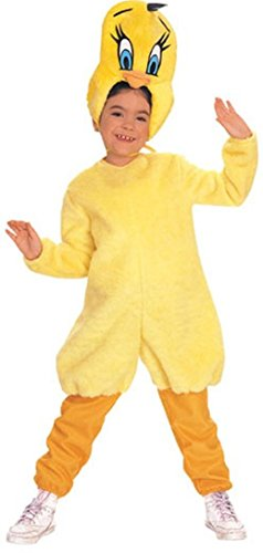 Toddler (Size 2-4T, 1-2 Yrs) Looney Tunes Tweety Costume