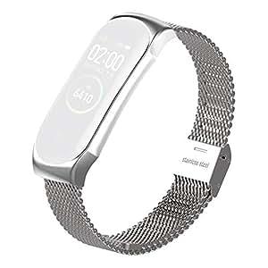 Amazon.com: Cobud para Xiaomi MI Band 4 reloj inteligente de ...