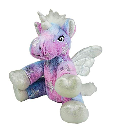 Stuffems Toy Shop Record Your Own Plush 8 inch Stardust The Unicorn - Ready 2 Love in a Few Easy Steps ()