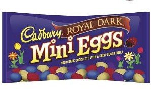 Cadbury Royal Dark Mini Eggs, 10-Ounce Bag (Pack