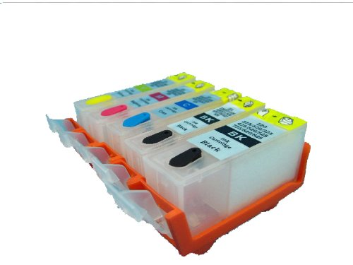 Gerneric 5 Refillable Cartridge for HP564 564 HP364 C6383 B5580 C6350 C6380 6500 B110B