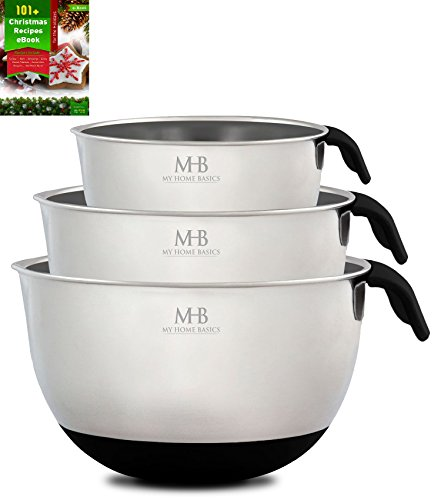 Stainless Steel Mixing Bowls for Kitchen