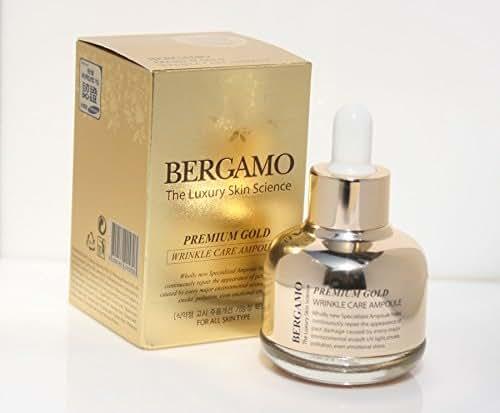Bergamo/the Skin Science Premium Gold Wrinkle Care Ampoule 30ml/koream Cosmetics