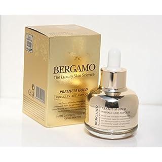 Bergamo/the Skin Science Premium Gold Wrinkle Care Ampoule 30ml/Korean Cosmetics