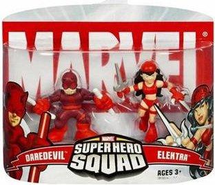 Marvel Super Hero Squad - Daredevil and Elektra - Elektra Superhero