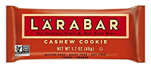 Larabar Snack Bar, Cashew Cookie, 16 ct, 1.7 oz