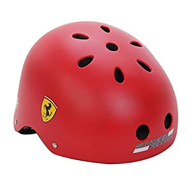 Ferrari Kids Helmet Bicycle Bike Cycling Scooter Ski Skate Skateboard Protect