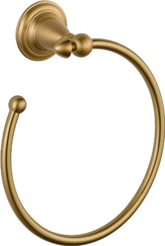 Delta Faucet 75046-CZ Victorian Towel Ring, Champagne Bronze