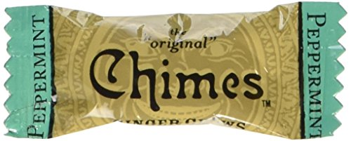 (Chimes Peppermint Ginger Chews, 5-Pound Box)