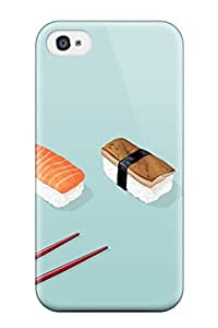 Anti-scratch And Shatterproof Chinese Food Food Phone Case For Iphone 4/4s/ High Quality Tpu Case