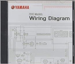 2010 YAMAHA MOTORCYCLE WIRING DIAGRAM ON CD, LIT-CDSRV-WD-10