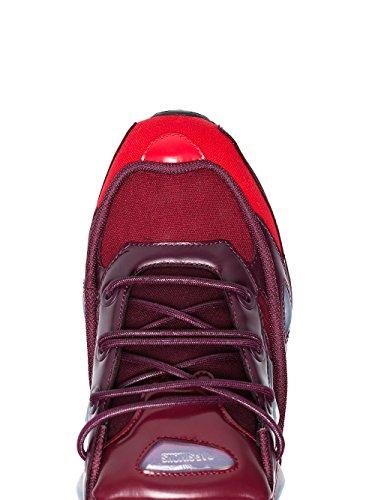 Adidas Di Raf Simons Herren B2253810 Bordeauxrot Poliammide Scarpe Da Ginnastica