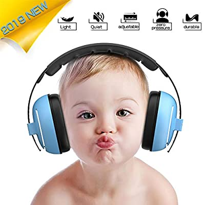 Baby Ear Protection Baby Headphones - Comfortable Noise Cancelling Headphones for Babies, Protect Toddlers and Infants Hearing with Durable & Adjustable Band Headphones Baby Ear Muffs