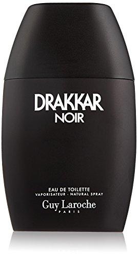 Guy Laroche Drakkar Noir Eau de Toilette Spray for Men, 3.4 Fluid Ounce